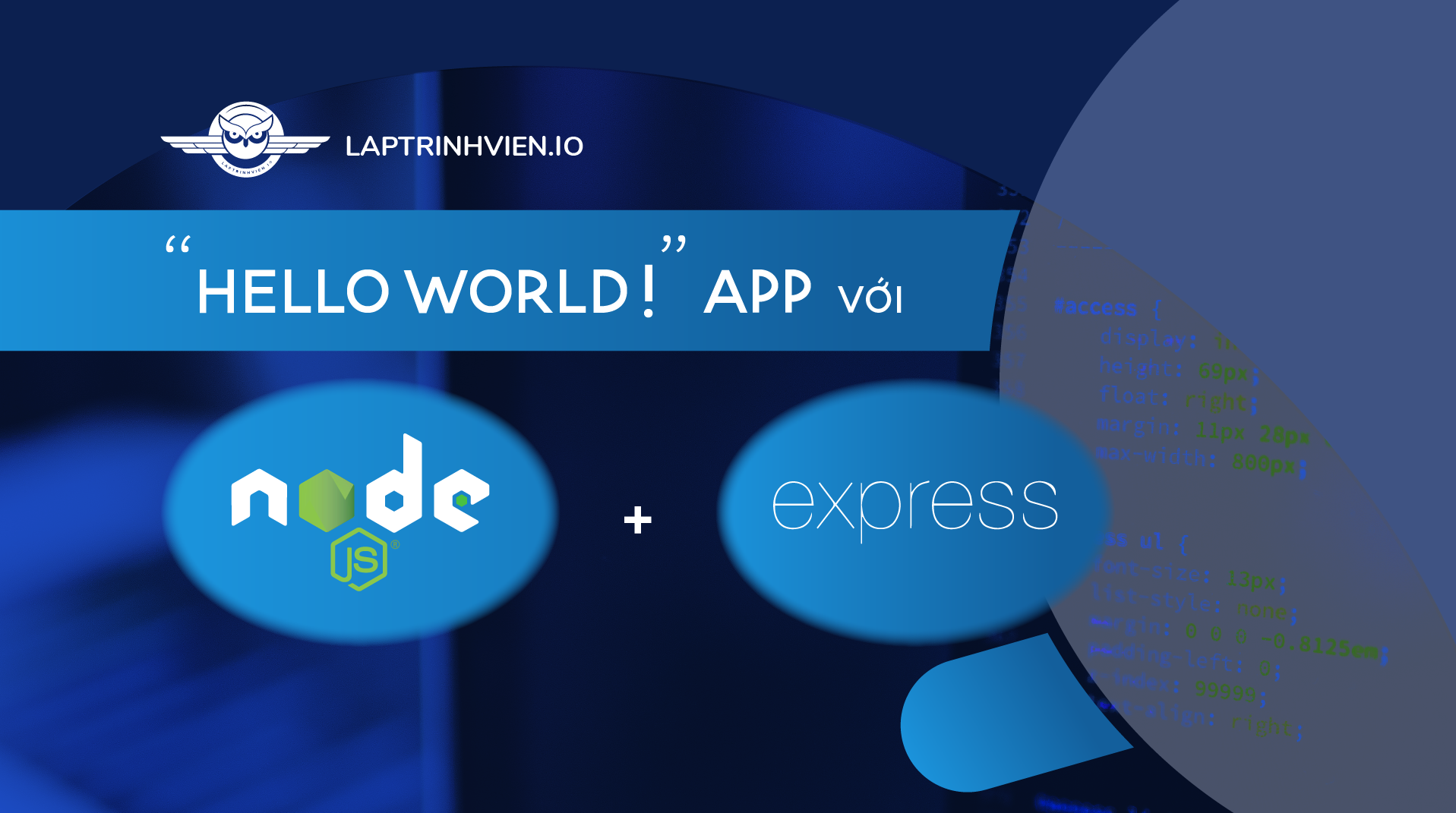 "JTC » ""Hello World!"" app with Node js and Express"